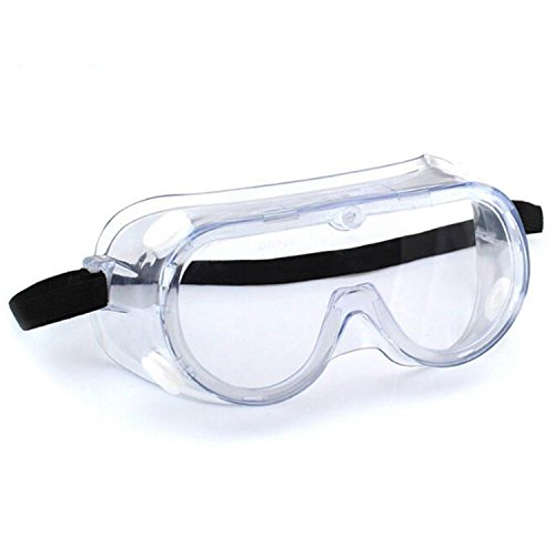 Enshey Safety Goggle Chemical Splash and Impact Resistant Goggle Clear Anti-Fog/Anti-Scratch Coating Protective Eyewear Economy Perfect Eye Protection for Lab, Chemical, and Workplace Safety