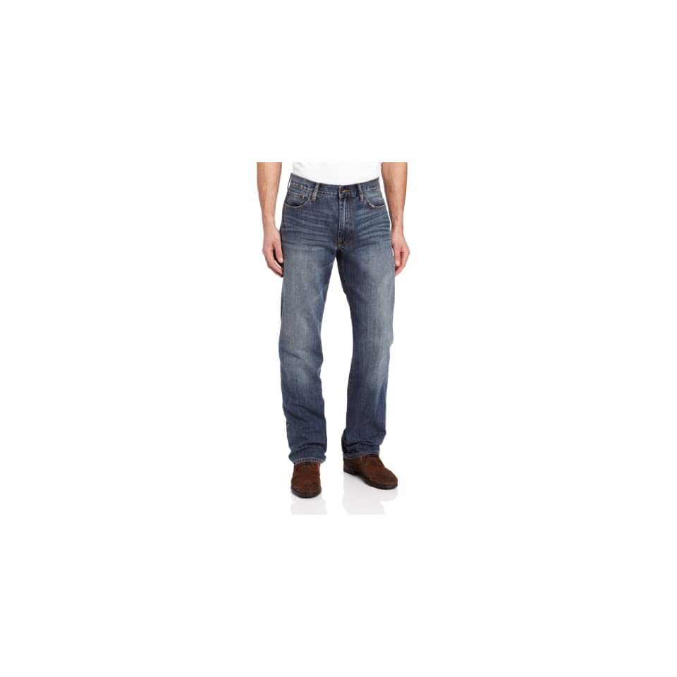 Lucky Brand Mens 181 Relaxed Straight Leg Jean In Medium Clarksville