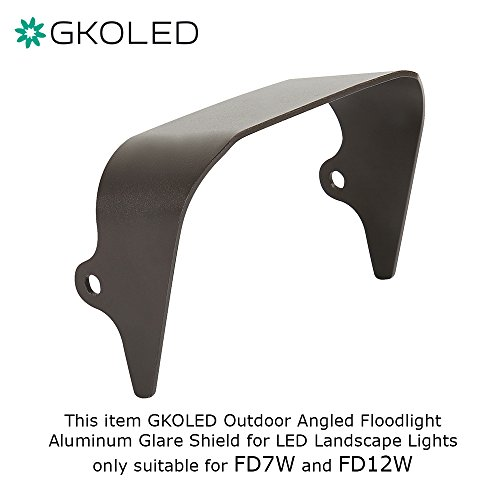 Flood Light Glare Shield - 1