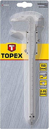 67 opinioni per Topex Calibro a corsoio, 150 mm, 31C615