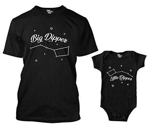 Big Dipper/Little Dipper Matching Bodysuit & Men