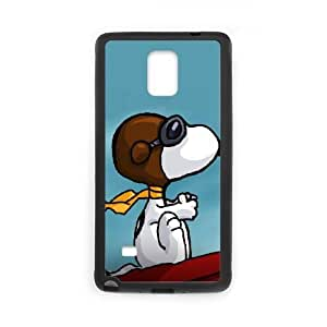 Samsung Galaxy S4 Phone Case Black Charlie Brown and Snoopy VMN8179602