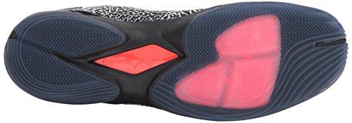 Jordan Mens Super Fly 4 Jcrd, Bianco / Palestra Rosso-nero-infrarosso 23, 12 M Us