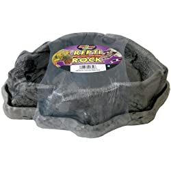 Zoo Med Combo Reptile Rock Food and Water Dish, X-Large