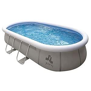 Pool Chinook sobre el suelo. 540 x 304 x 106 cm - Piscina tubular ...