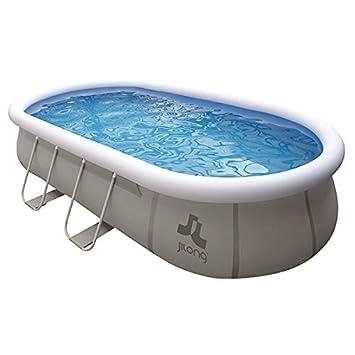Pool Chinook sobre el suelo. 540 x 304 x 106 cm - Piscina tubular: Amazon.es: Jardín