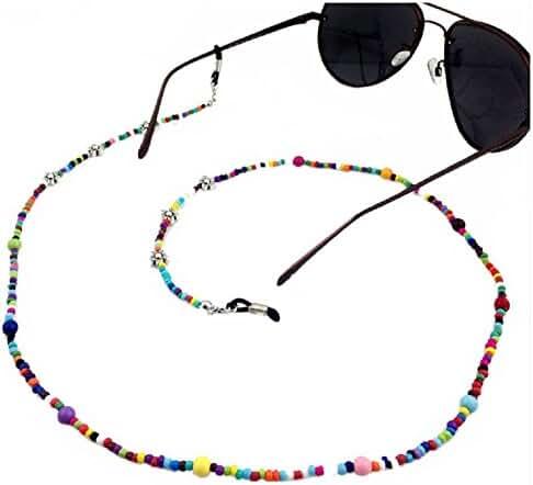 Ababalaya Vintage Strap Anti-Skid Eyeglass Cord Metal Sunglasses Thin Chain