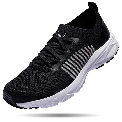 - CAMELSPORTS Mens Lightweight Running Shoes Athletic Tennis Walking Shoes Breathable Casual Fashion Sneakers Black