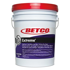 Extreme® High Power, Fast Acting, Low Odor, No-rinse Floor Stripper- 5 Gallon Pail by Betco