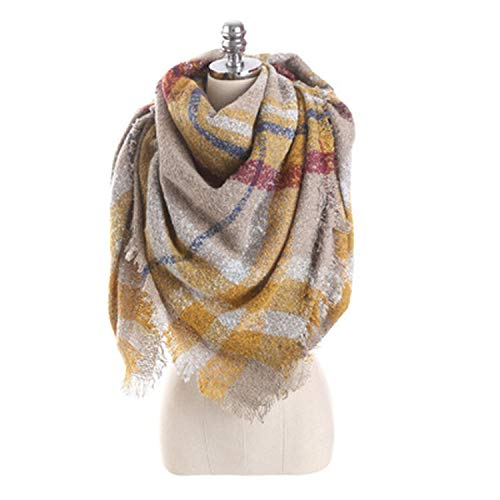 Used, Autumn and winter new scarf mohair loop yarn mosaic for sale  Delivered anywhere in USA