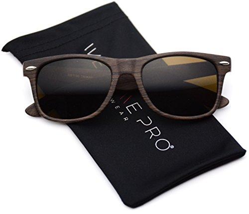 Faux Reflective Color Rimmed Sunglasses