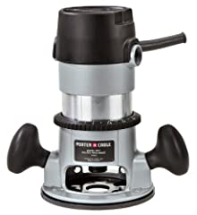 Amazon.com Powerful and efficient, the Porter-Cable 690LR fixed-base router utilizes a hefty 1-3/4-horsepower motor to generate an impressive 27,500 revolutions-per-minute for precise cuts. Two ergonomic handles are strategically placed to ma...