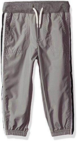 Osh Kosh Boys' Toddler Classic Fit Matte Active Jogger Pant, Gray-Cinched Leg, (Toddler Boys Sweatpants)