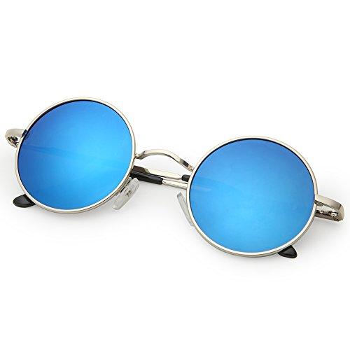 5e1a1f2c39 Joopin-Round Retro Polaroid Sunglasses Driving Polarized - Import It All
