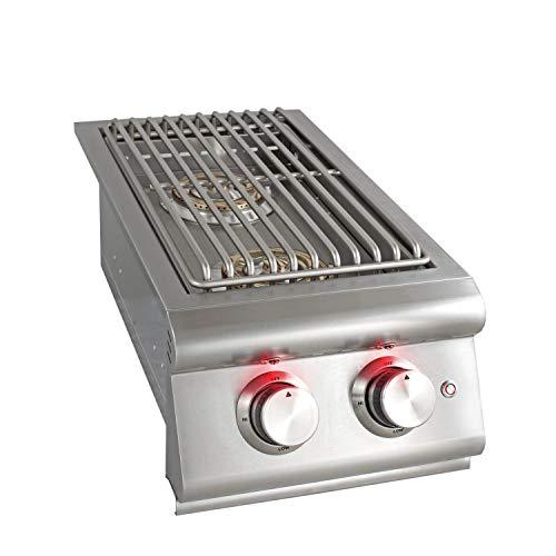(Blaze Built-In Double Burner (BLZ-SB2LTE-NG), Natural Gas )
