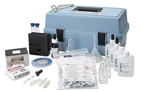 Hach 225001 Phosphate Test Kit, Total Ortho-/Meta-, Model PO-24