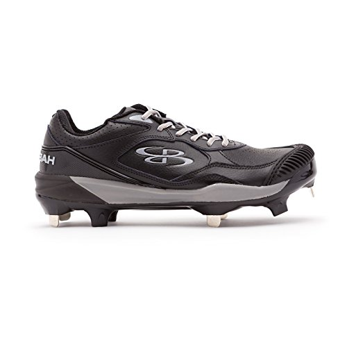 Boombah Women's Endura Pitcher's Toe Metal Cleats Black/Gray - Size 10.5 by Boombah