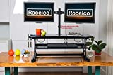 "Rocelco 37.5"" Deluxe Height Adjustable Standing"