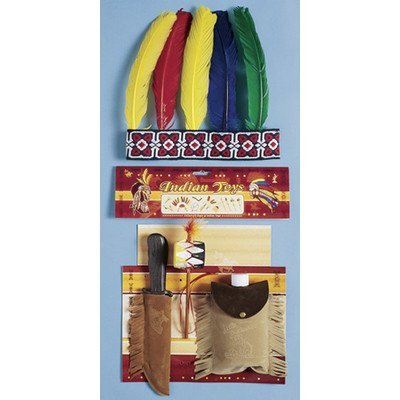Indian Hunter Kit (Franco Indian Hunter Costume Accessory Kit by Franco)