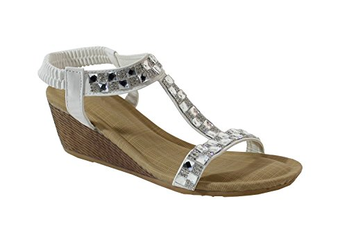 By Shoes - Sandalias para Mujer White