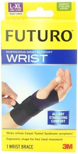 (Futuro Energizing Wrist Support Right Hand, Large/Extra-Large by Futuro)