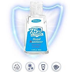 Tvvudwxx Refreshing Hand Gel, Gel Hand Soap, 30ml Travel Mini Size Refillable Bottle, Disposable Hand Washing Liquid