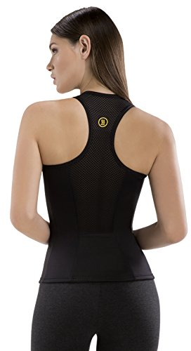 Hot Shapers Racerback Thermal Tank for Women – Slimming Activewear Fabric for Calorie Burn