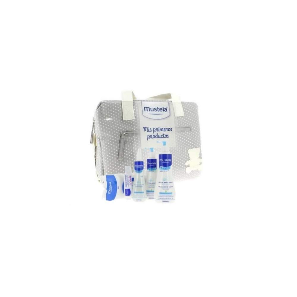 Mustela - Bolsa primeros productos Bebe, Color Azul