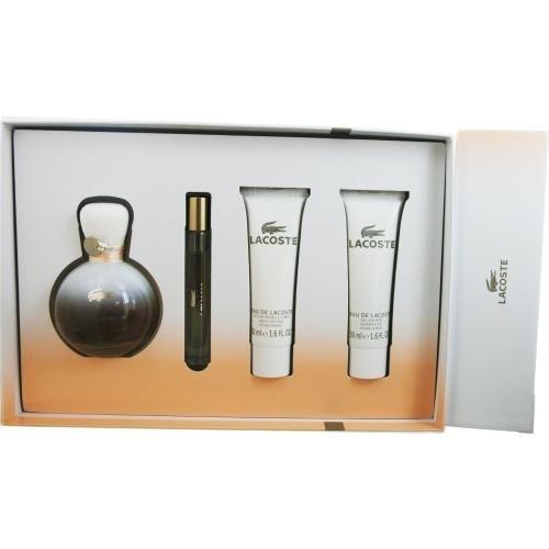 Juego de - Lacoste Colonia de imitación Lacoste - 90 ml + x 15 con tapón de rosca y + Eau De Parfum 50 ml + Bodylotion 50 ml viene muy bien: Amazon.es: ...