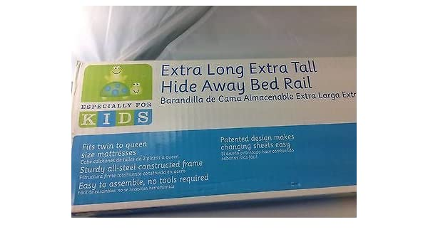 Amazon.com : Especially for Kids Extra Long Extra Tall Hide Away Bed Rail (2-5 Yrs) : Baby