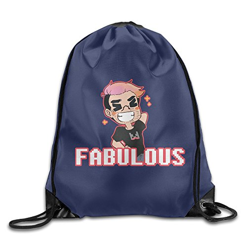 Price comparison product image FABULOUS Sports Bag Drawstring Backpack