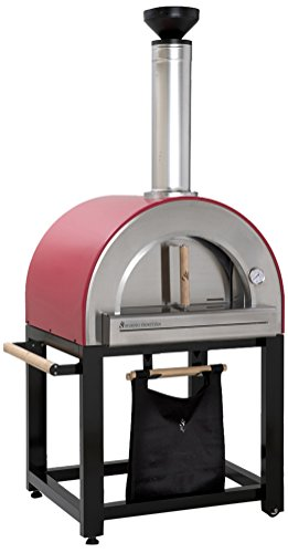 Forno Venetzia FVP300R Pronto 300 Outdoor Pizza Oven, Red by Forno Venetzia