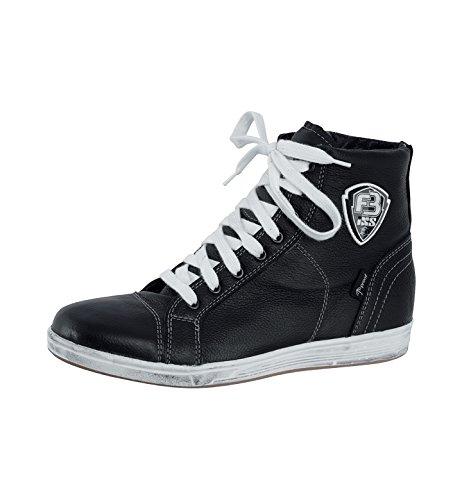 IXS Men's Strada Boots (Black, Size US 10.5/Size EU 44)
