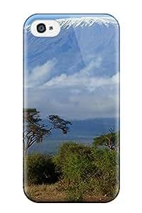 XiFu*MeiHot Design Premium JCtZgNy165uNTKl Tpu Case Cover Iphone 4/4s Protection Case(mount Kilimanjaro One Digital)XiFu*Mei