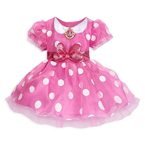 Disney Minnie Mouse Pink Costume for Baby]()