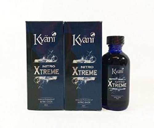 New Sealed 4 Bottles Kyani Nitro Xtreme 56ml Nitric Oxide with Express Shipping by Kyani Inc