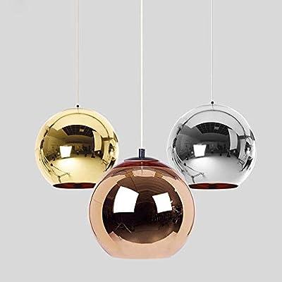 Moderna Tom Dixon electrochapada del Balón de Oro luces pendientes ...