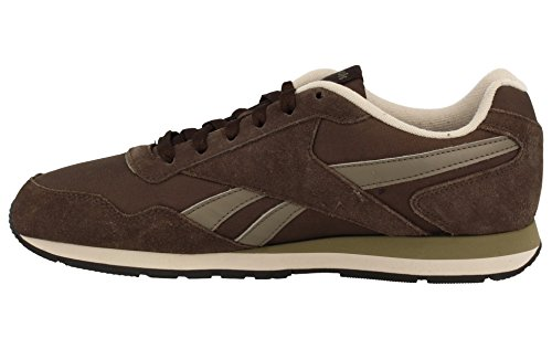 Reebok Royal Glide, Zapatillas de Deporte para Hombre Marrón (Dark Brown / Cliff Stone / Sand Stone / Black / )