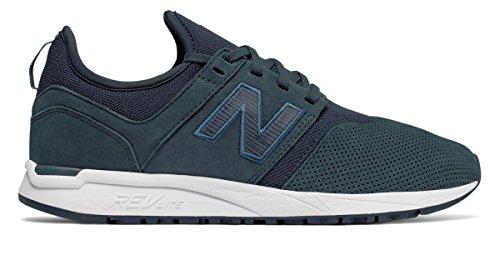可聴柔らかい足オフェンス(ニューバランス) New Balance 靴?シューズ レディースライフスタイル Nubuck 247 Galaxy with White ホワイト US 6.5 (23.5cm)