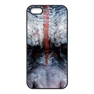 Dawn Of The Planet Of The Apes iPhone 5 5s Cell Phone Case Black W2273690