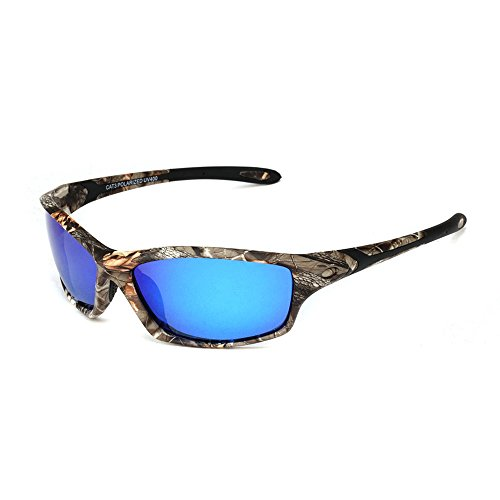 Polarized Designer Sports Sunglasses Shades for Men Women Baseball Cycling Fishing Golf Tr90 Superlight Frame