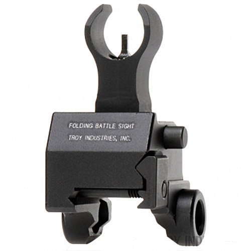 Troy Industries Front Folding HK Gas-Block Mounted Battle Sight (Black) by Troy Industries (Image #1)