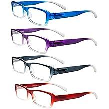 OptiPlix-For Men & Women-Fashion Readers-Set of 4-Eyeglasses-Reading Glasses