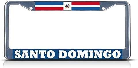 Santo Domingo Dominican Republic Novelty Auto Car License Plate