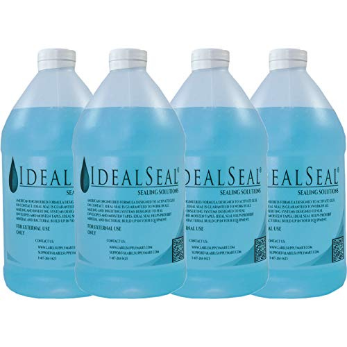 Preferred Postage Supplies Sealing Solutions,4 Half Gallons