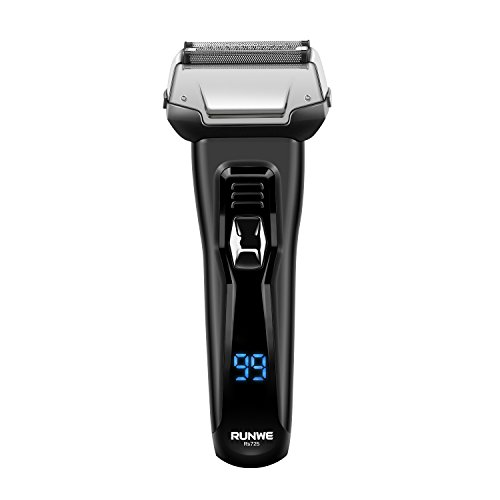 Runwe RS725 Wet & Dry Foil Shaver Rechargeable Electric Razor IPX6 Waterproof for Men Flyco Technologies Ltd