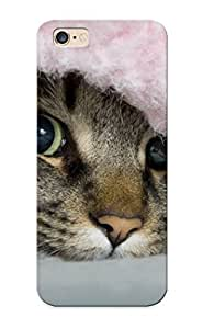 Fashion Tpu Case For Iphone 6 Plus- Hiding Cute Cat Defender Case Cover For Lovers
