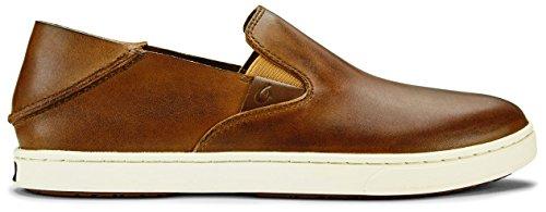 OLUKAI Pehuea Leather Shoe - Women's Fox/Fox 7.5