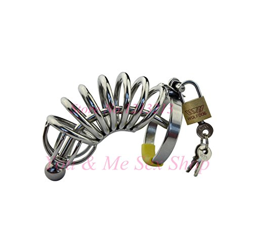 HBBtvc 2016 New Stainless steel Cock belt, male chastity lock CB6000,Adult alternative toys,male chastity device,cock ring,men sex toys