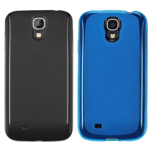 YESOO Protective Case Kits Includes BLACK Extended Battery Cover , TPU Cover For Samsung Galaxy S4 SIV i9500. (Compatibale With Anker, Hyperion, Onite, Seidio, Gorilla Gadgets, Laza Zcell, Bastex and Other Brand From 4200mAh To 6000m